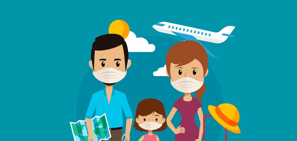 Cartilla de recomendaciones para viajes nacionales en avión y alojamiento en hoteles