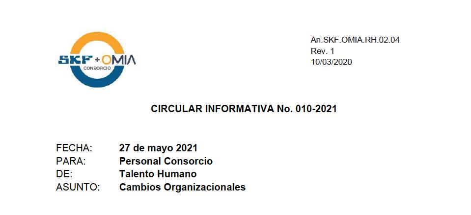 Circular Informativa 010-2021