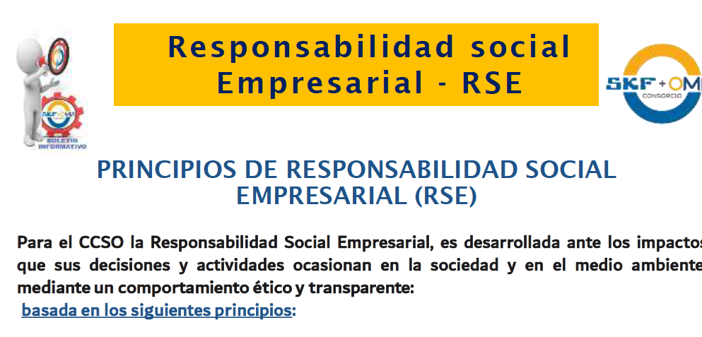 Principios – RSE